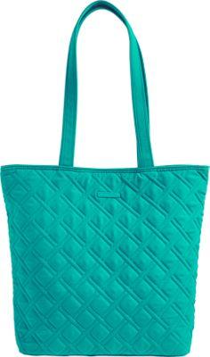 Vera Bradley Tote - Retired Colors Turquoise Sea - Vera Bradley Fabric Handbags