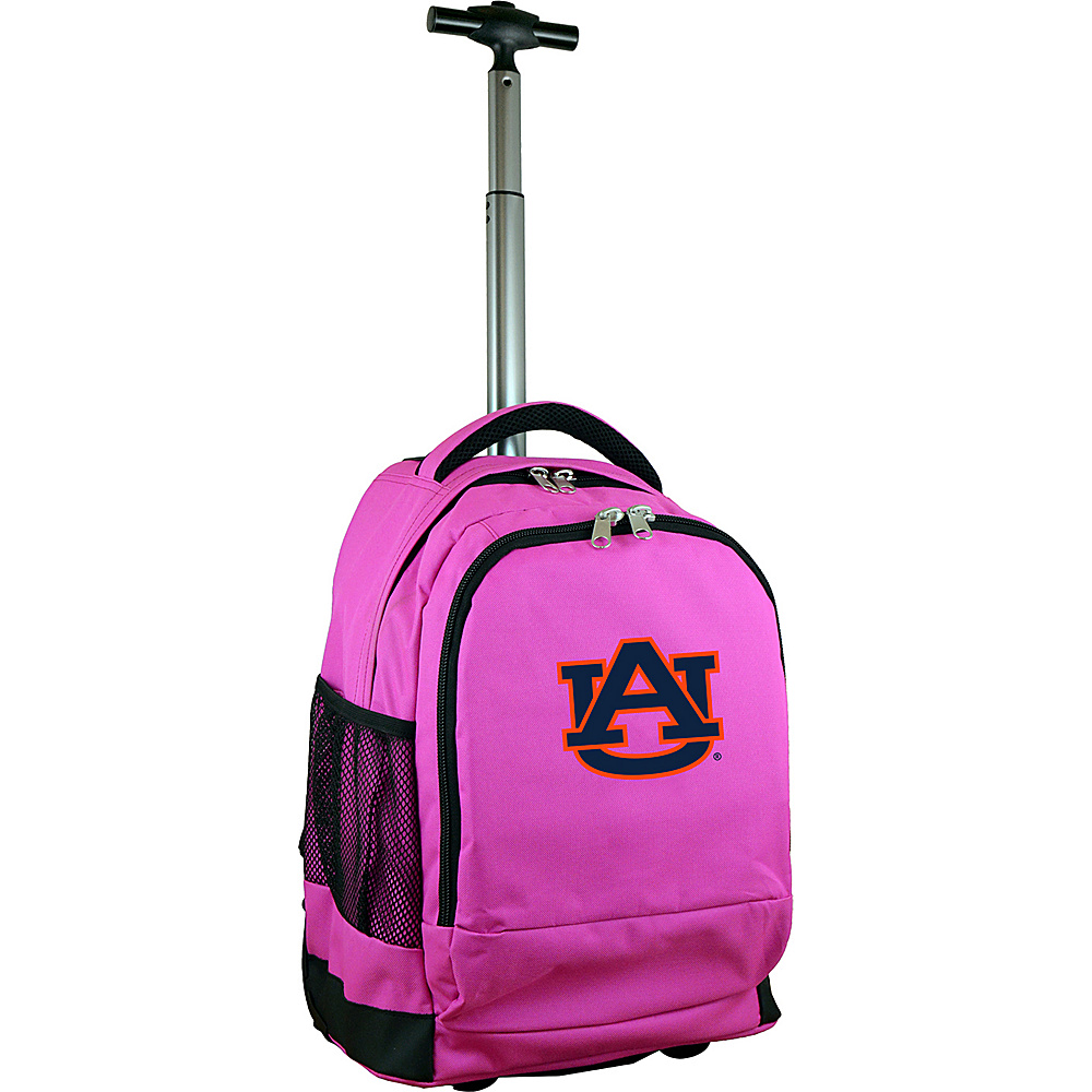 MOJO Denco College NCAA Premium Laptop Rolling Backpack Auburn - MOJO Denco Rolling Backpacks - Backpacks, Rolling Backpacks
