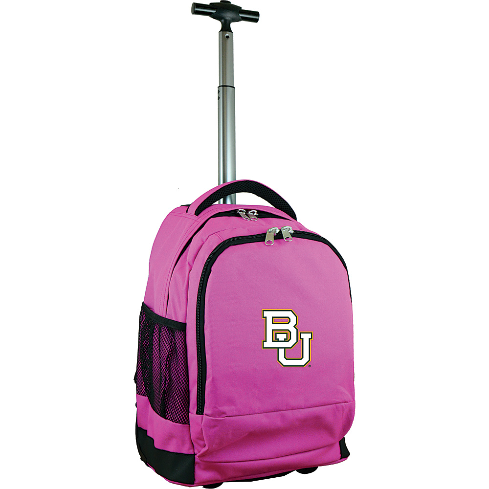 MOJO Denco College NCAA Premium Laptop Rolling Backpack Baylor - MOJO Denco Rolling Backpacks - Backpacks, Rolling Backpacks