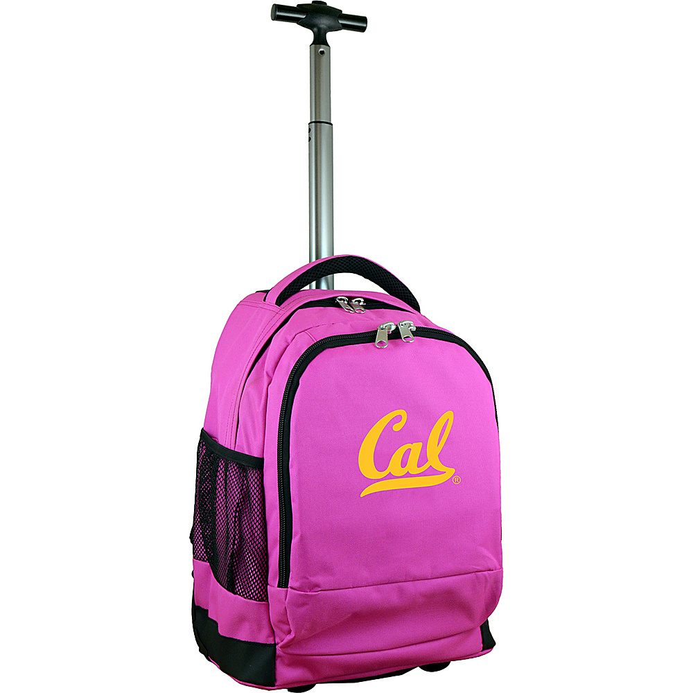 MOJO Denco College NCAA Premium Laptop Rolling Backpack Berkeley - MOJO Denco Rolling Backpacks - Backpacks, Rolling Backpacks