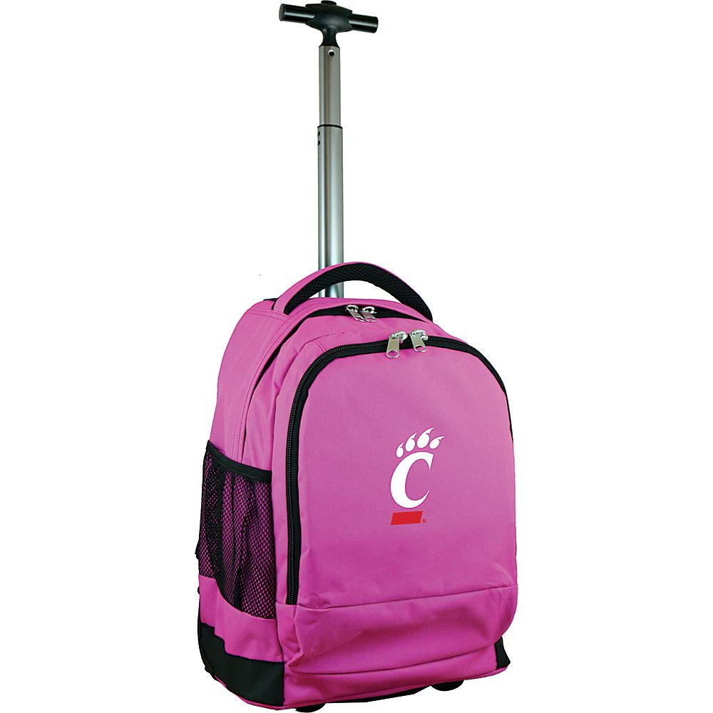 MOJO Denco College NCAA Premium Laptop Rolling Backpack Cincinnati - MOJO Denco Rolling Backpacks - Backpacks, Rolling Backpacks