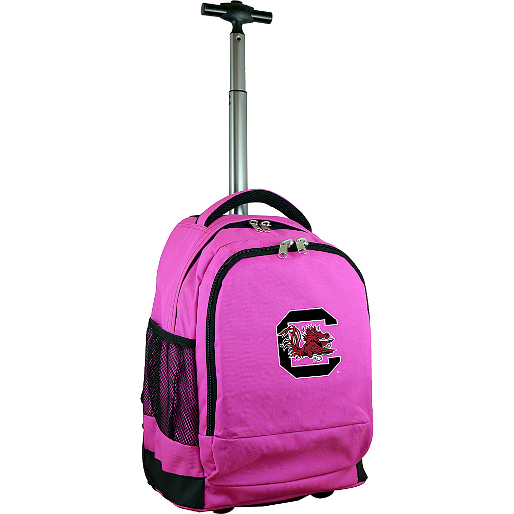 MOJO Denco College NCAA Premium Laptop Rolling Backpack South Carolina - MOJO Denco Rolling Backpacks - Backpacks, Rolling Backpacks