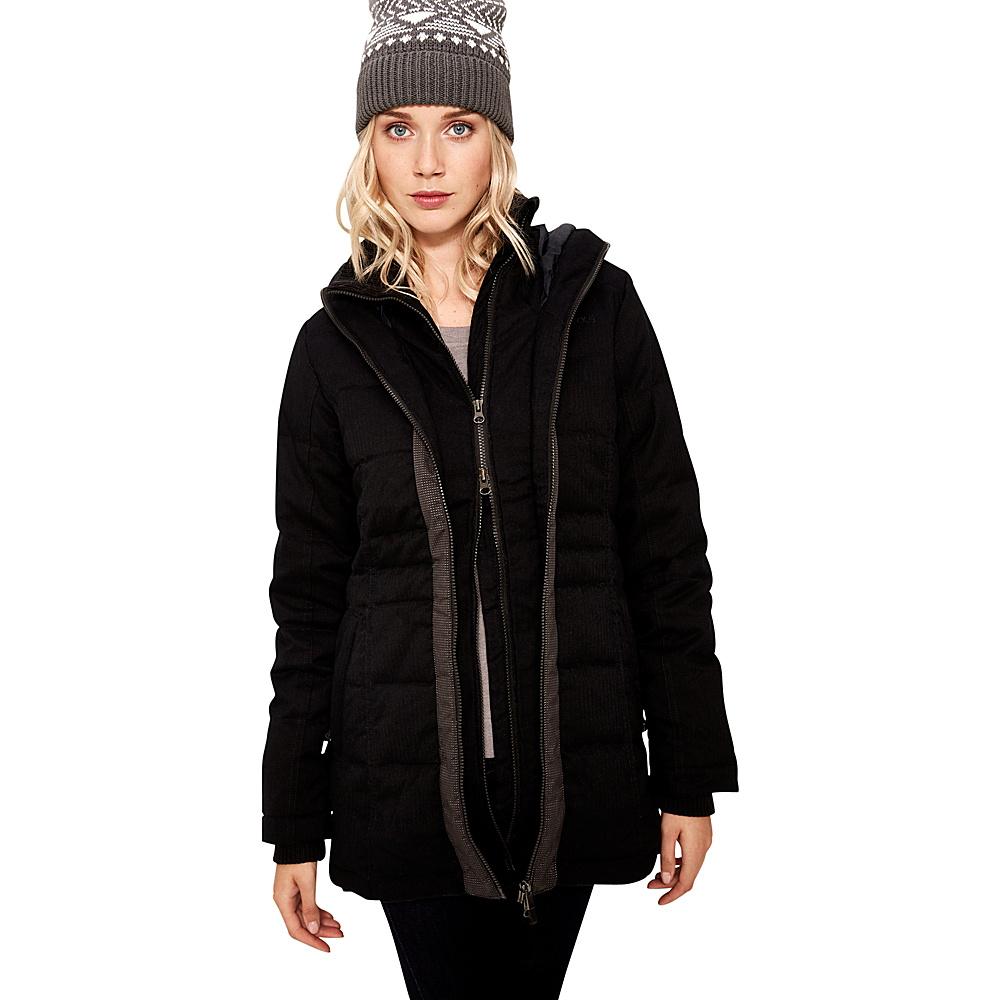 Lole Robbie Jacket XS - Black Herringbone - Lole Womens Apparel - Apparel & Footwear, Women's Apparel