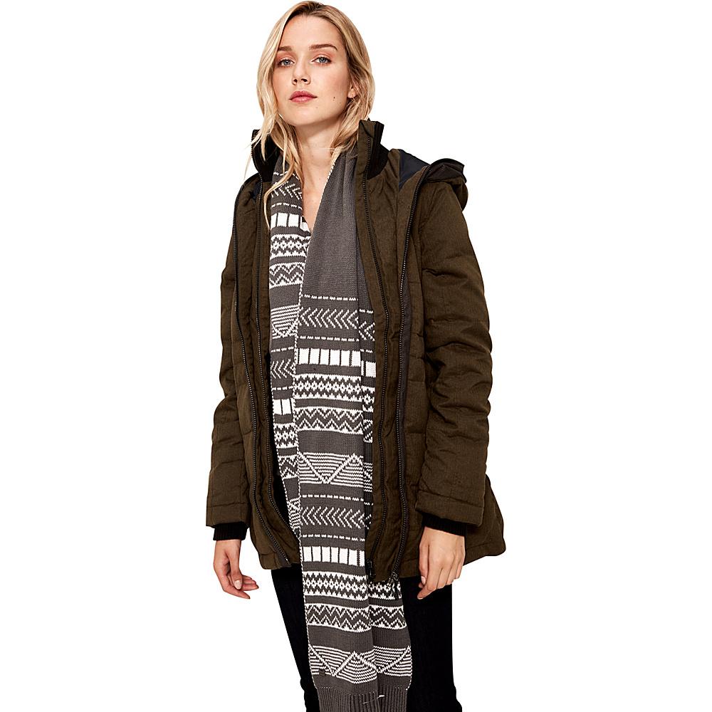 Lole Robbie Jacket L - Mount Royal Herringbone - Lole Womens Apparel - Apparel & Footwear, Women's Apparel