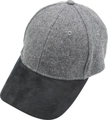 Quagga Green Jetset Baseball Cap One Size - Heather Grey - Quagga Green Hats/Gloves/Scarves