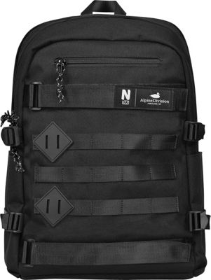 Alpine Division Nuzzi Laptop Backpack Black - Alpine Division Business & Laptop Backpacks