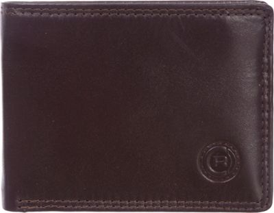 Club Rochelier Slimfold Wallet with Removable Wing Brown - Club Rochelier Men's Wallets
