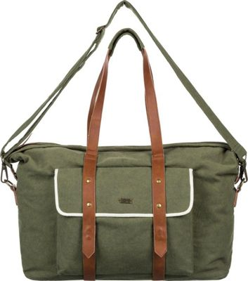 Roxy Beach Entry Weekender Duffel Dusty Olive - Roxy Travel Duffels