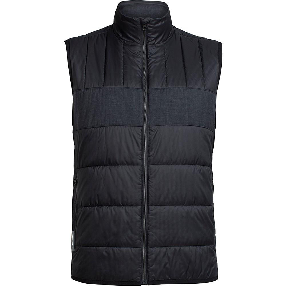 Icebreaker Mens Stratus X Vest L - Black/Jet Heather - Icebreaker Mens Apparel - Apparel & Footwear, Men's Apparel