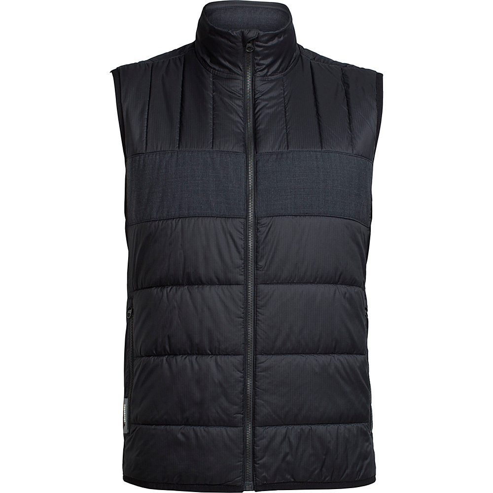 Icebreaker Mens Stratus X Vest XL - Black/Jet Heather - Icebreaker Mens Apparel - Apparel & Footwear, Men's Apparel