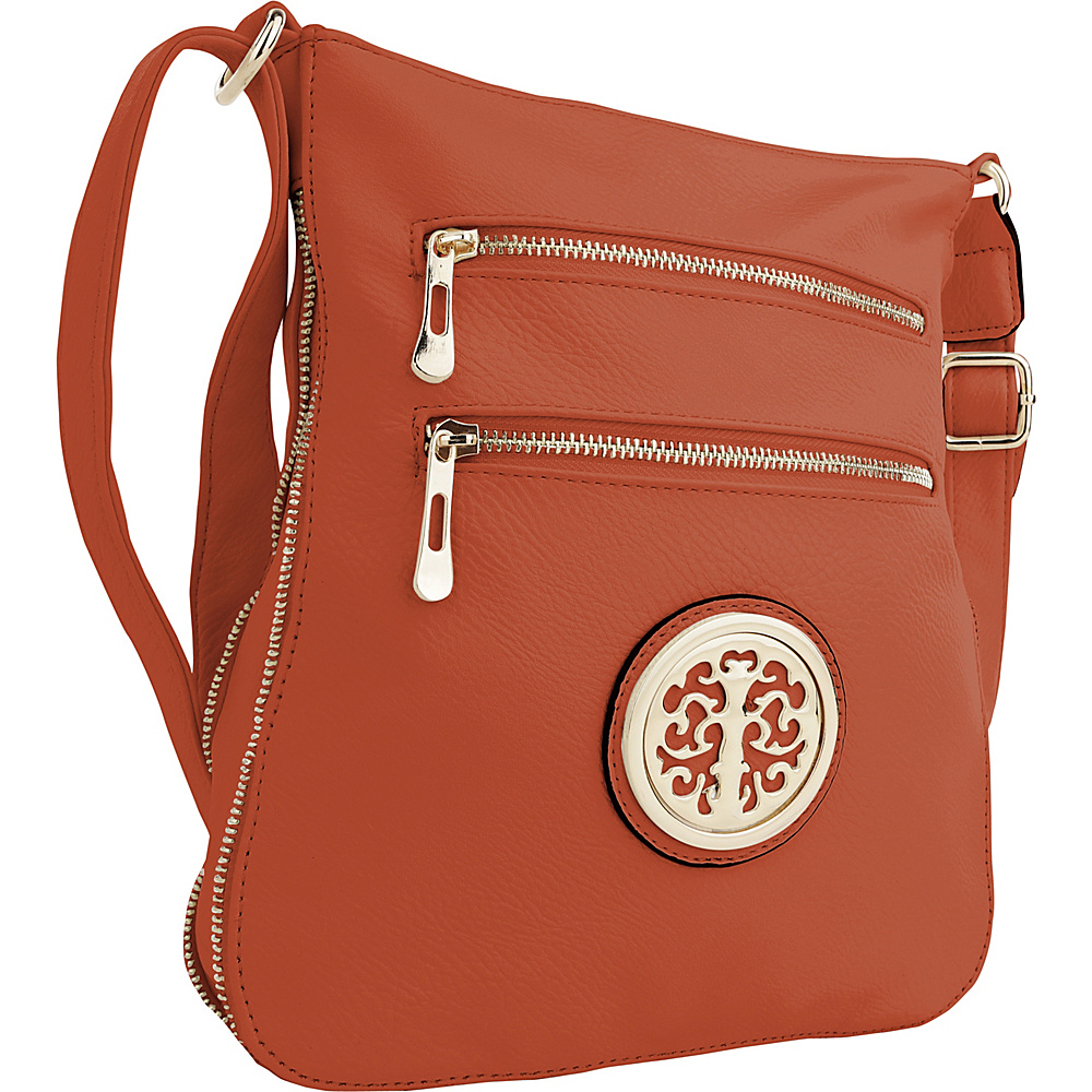 MKF Collection by Mia K. Farrow Aline Crossbody Orange - MKF Collection by Mia K. Farrow Manmade Handbags - Handbags, Manmade Handbags
