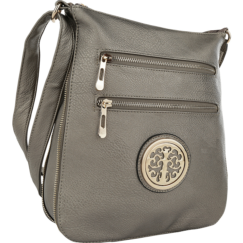 MKF Collection by Mia K. Farrow Aline Crossbody Stone - MKF Collection by Mia K. Farrow Manmade Handbags - Handbags, Manmade Handbags