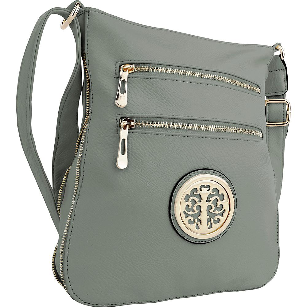 MKF Collection by Mia K. Farrow Aline Crossbody Seafoam (Light Blue) - MKF Collection by Mia K. Farrow Manmade Handbags - Handbags, Manmade Handbags
