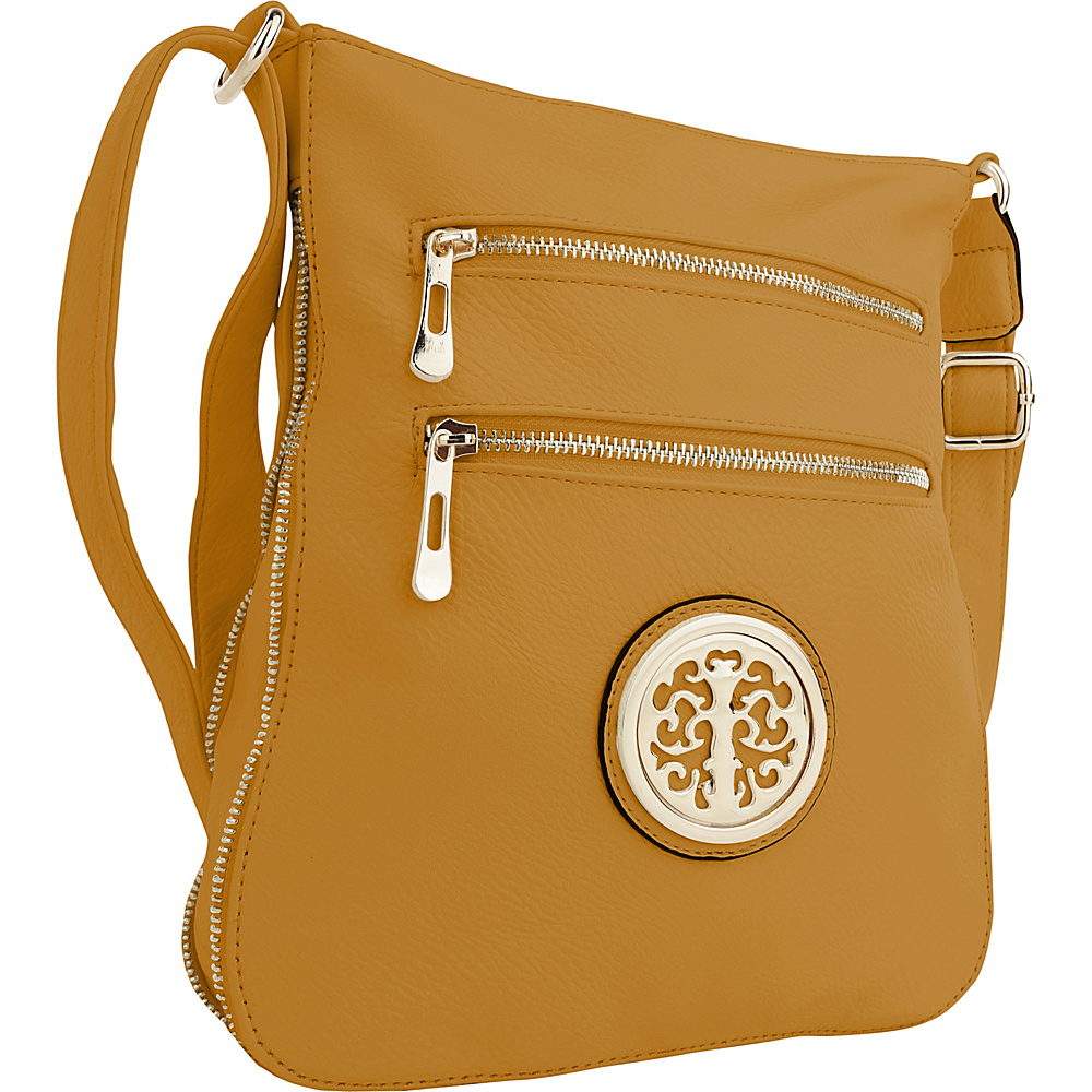 MKF Collection by Mia K. Farrow Aline Crossbody Yellow - MKF Collection by Mia K. Farrow Manmade Handbags - Handbags, Manmade Handbags