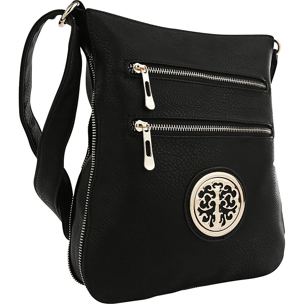 MKF Collection by Mia K. Farrow Aline Crossbody Black - MKF Collection by Mia K. Farrow Manmade Handbags - Handbags, Manmade Handbags