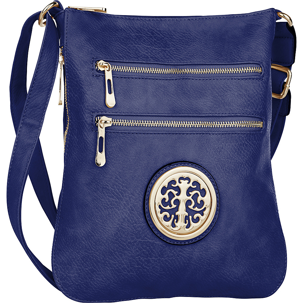 MKF Collection by Mia K. Farrow Aline Crossbody Blue - MKF Collection by Mia K. Farrow Manmade Handbags - Handbags, Manmade Handbags