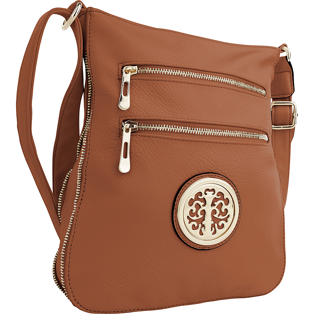 MKF Collection by Mia K. Farrow Aline Crossbody Brown - MKF Collection by Mia K. Farrow Manmade Handbags - Handbags, Manmade Handbags