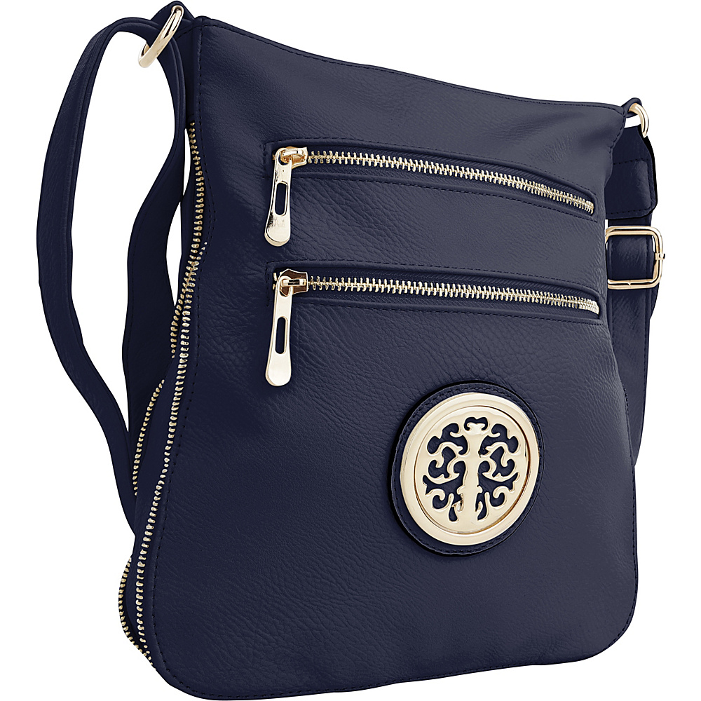 MKF Collection by Mia K. Farrow Aline Crossbody Navy - MKF Collection by Mia K. Farrow Manmade Handbags - Handbags, Manmade Handbags