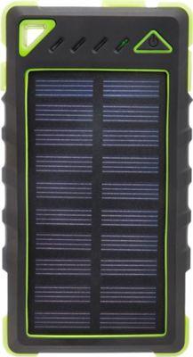 Zunammy 8000 mAh Solar Power Bank Light Green - Zunammy Portable Batteries & Chargers
