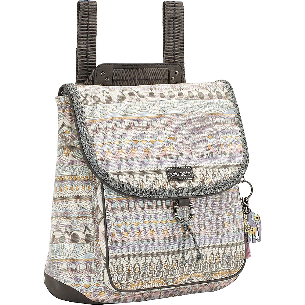 Sakroots Convertible Backpack Pastel One World - Sakroots Everyday Backpacks - Backpacks, Everyday Backpacks