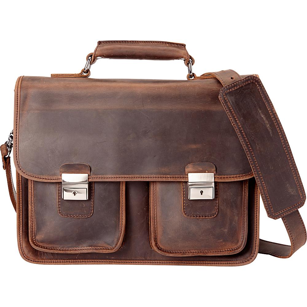 Vagabond Traveler Pro Briefcase Dark Brown - Vagabond Traveler Non-Wheeled Business Cases - Work Bags & Briefcases, Non-Wheeled Business Cases