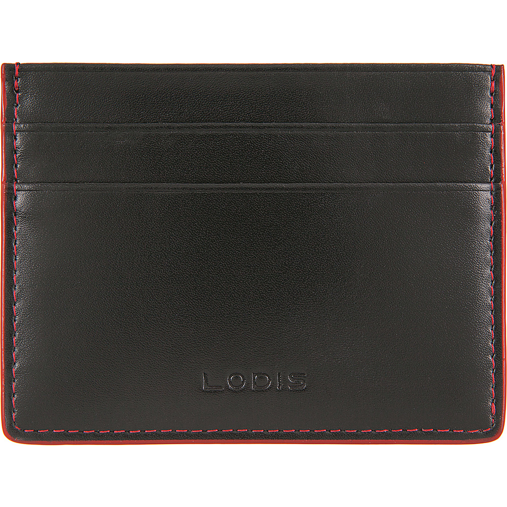 Lodis Audrey RFID Mini ID Card Case Black - Lodis Womens Wallets - Women's SLG, Women's Wallets