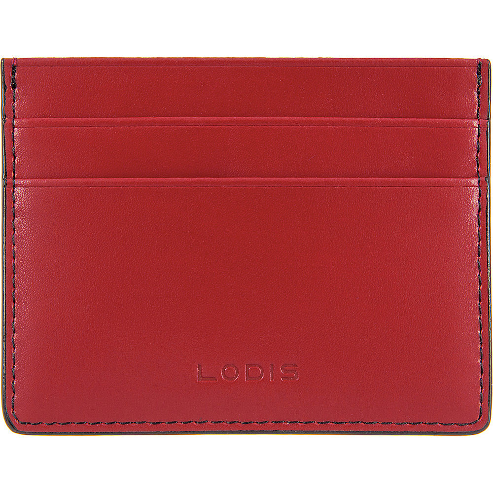 Lodis Audrey RFID Mini ID Card Case Red - Lodis Womens Wallets - Women's SLG, Women's Wallets