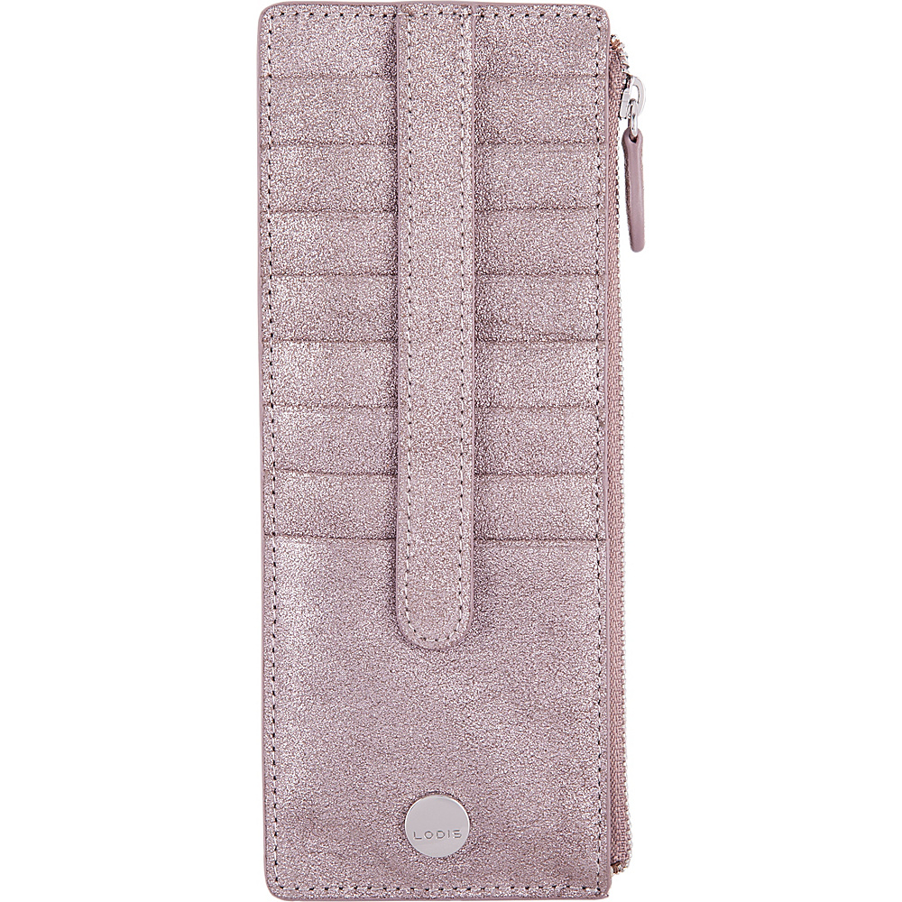 Lodis Romance RFID Credit Card Case with Zipper Pocket Mousse - Lodis Womens Wallets - Women's SLG, Women's Wallets