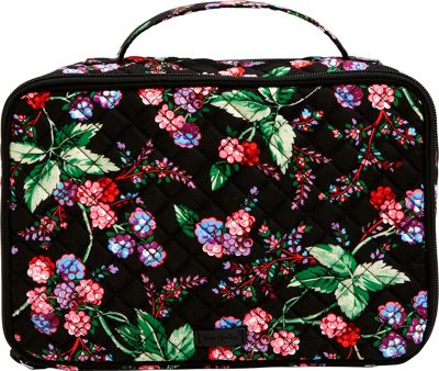 Vera Bradley Iconic Large Blush & Brush Case Winter Berry - Vera Bradley Women's SLG Other