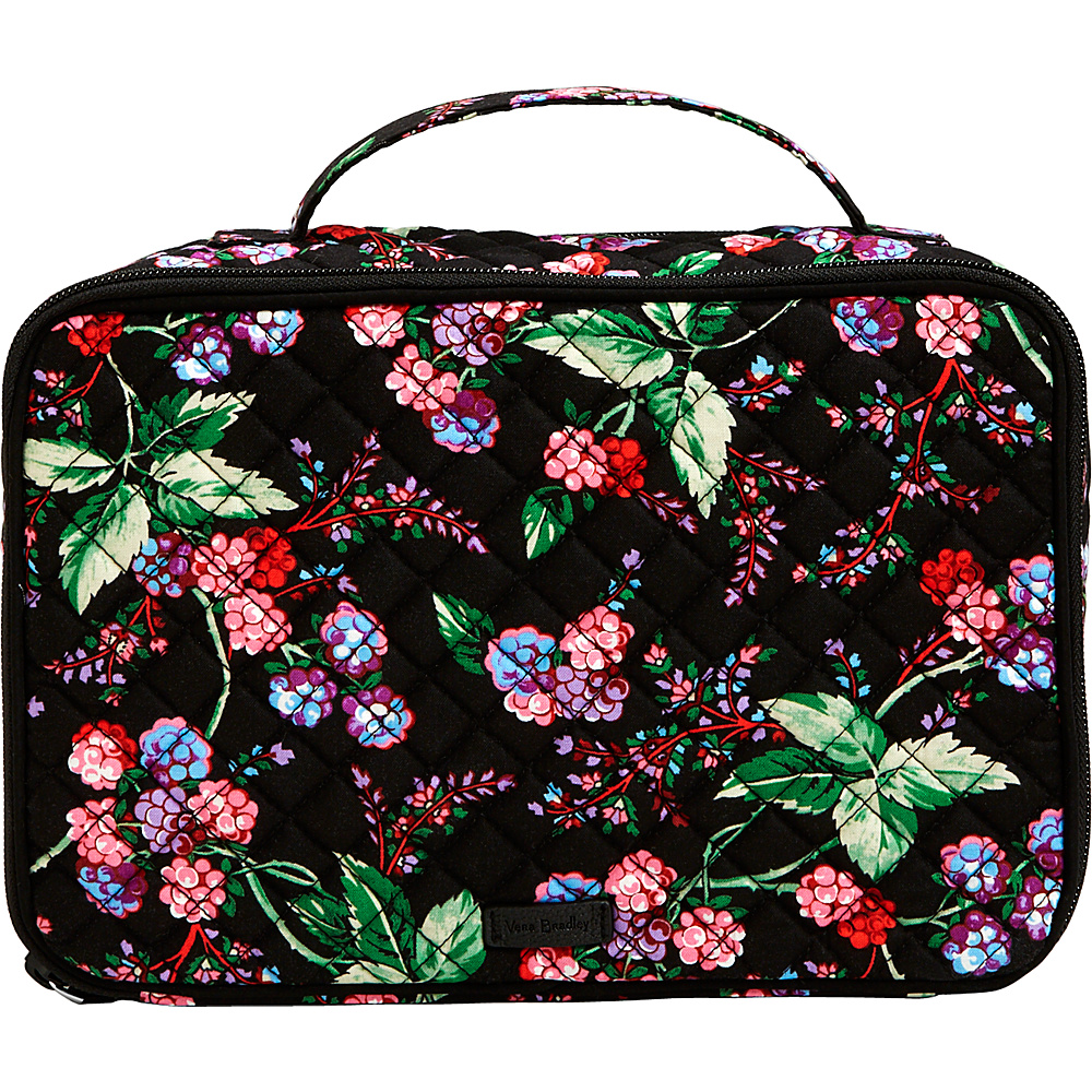 Vera Bradley Iconic Large Blush & Brush Case Winter Berry - Vera Bradley Womens SLG Other - Women's SLG, Women's SLG Other