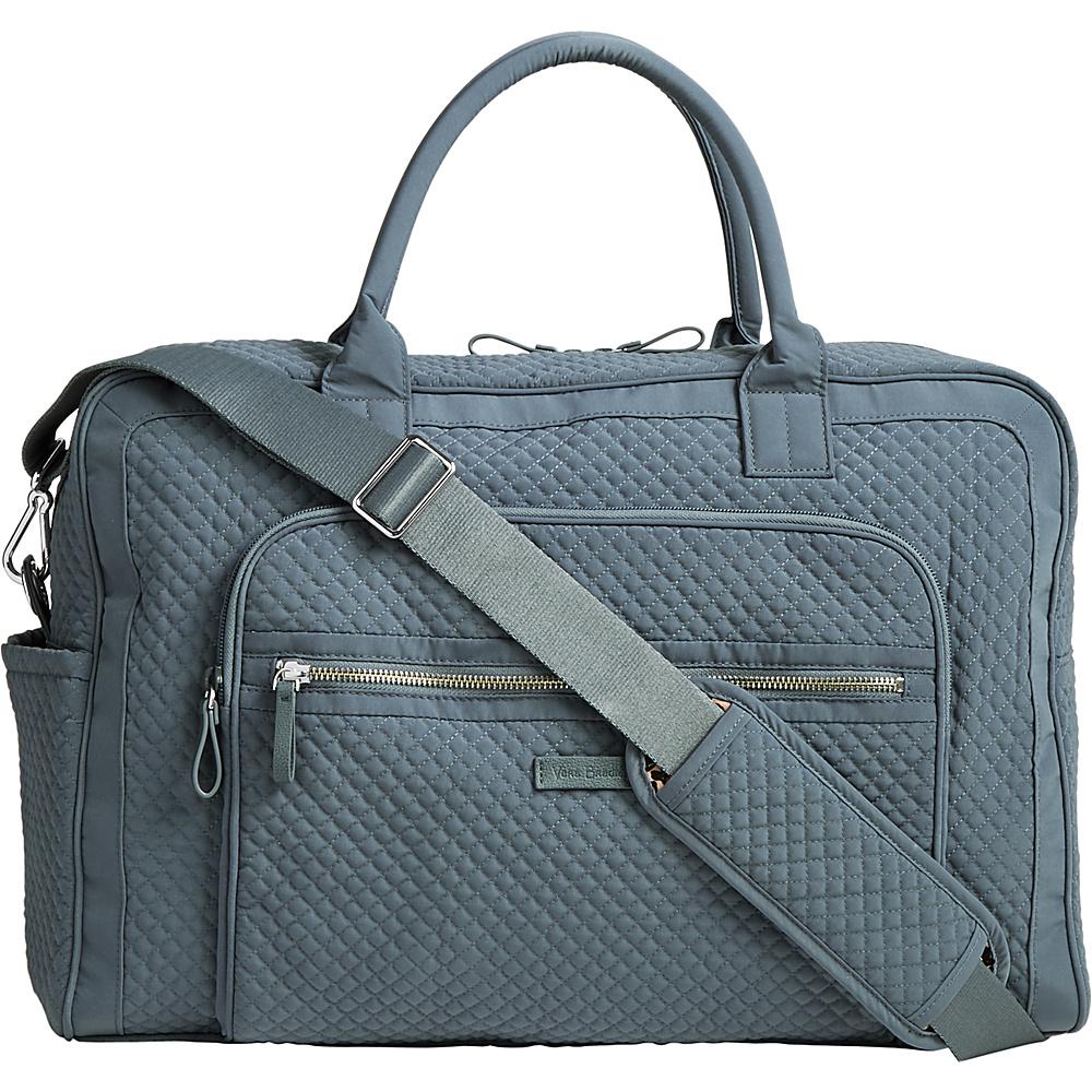 Vera Bradley Iconic Weekender Travel Bag - Solids Charcoal - Vera Bradley Travel Duffels - Duffels, Travel Duffels