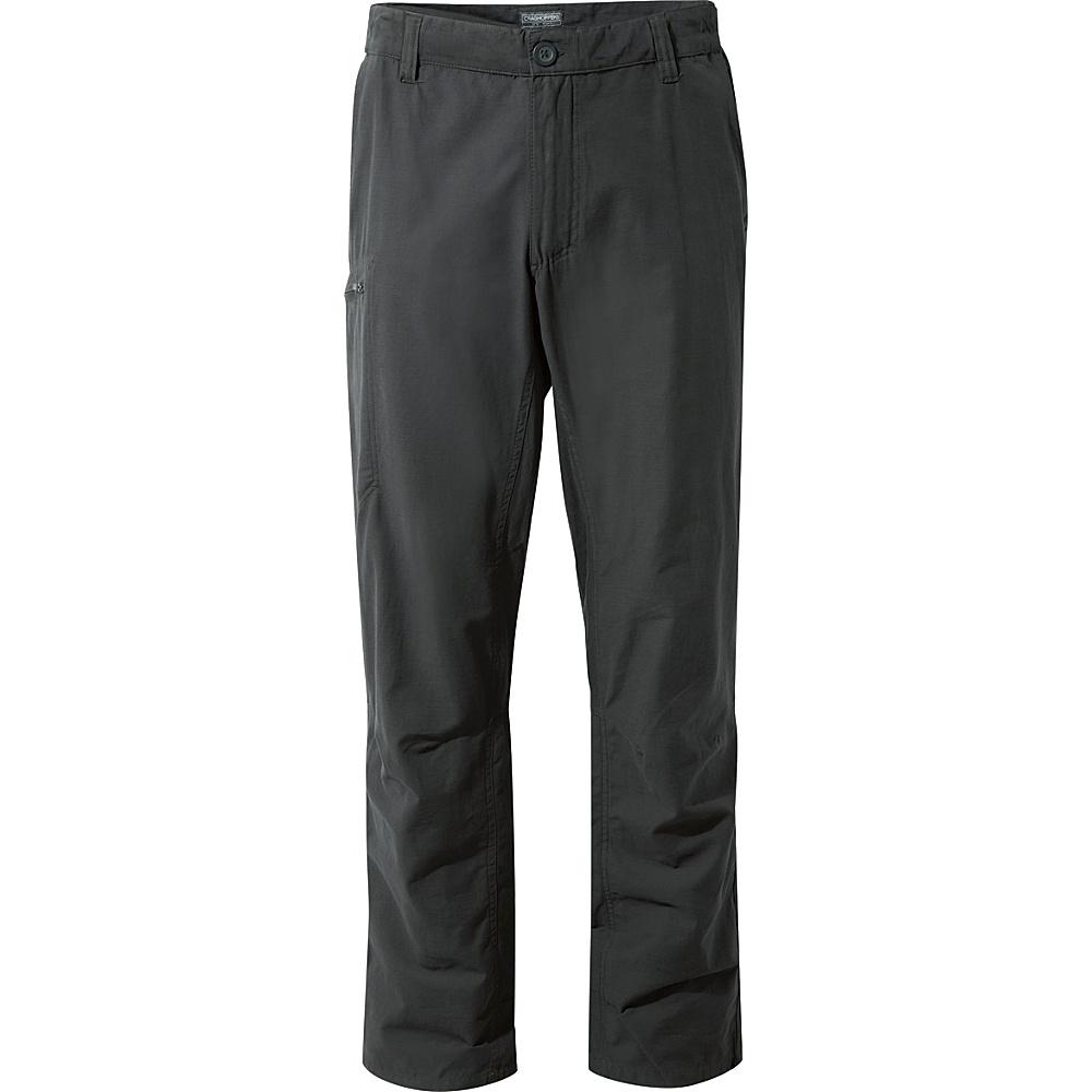 Craghoppers Kiwi Trek Trousers 30 - Regular - Black Pepper - Craghoppers Mens Apparel - Apparel & Footwear, Men's Apparel
