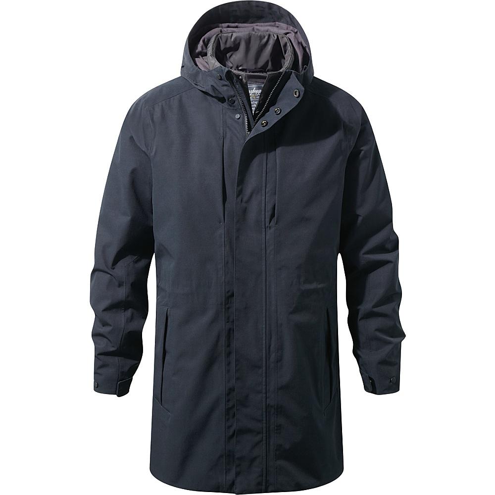 Craghoppers 365 5 in 1 Hooded Jacket S - Black/Black Pepper - Craghoppers Mens Apparel - Apparel & Footwear, Men's Apparel