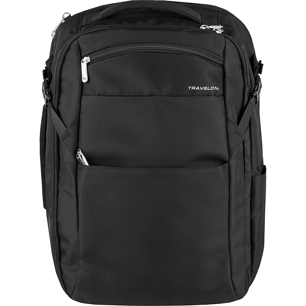 Travelon Anti-Theft Travel Backpack - eBags Exclusive Black - Travelon Travel Backpacks - Backpacks, Travel Backpacks