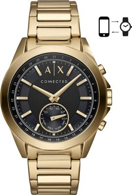 A/X Armani Exchange A/X Armani Exchange Men's Hybrid Smartwatch Gold - A/X Armani Exchange Wearable Technology
