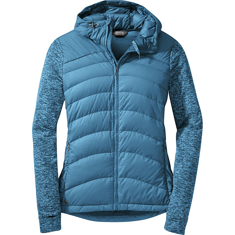 Outdoor Research Womens Insulated Plaza Down Hoody S - Oasis - Outdoor Research Womens Apparel - Apparel & Footwear, Women's Apparel