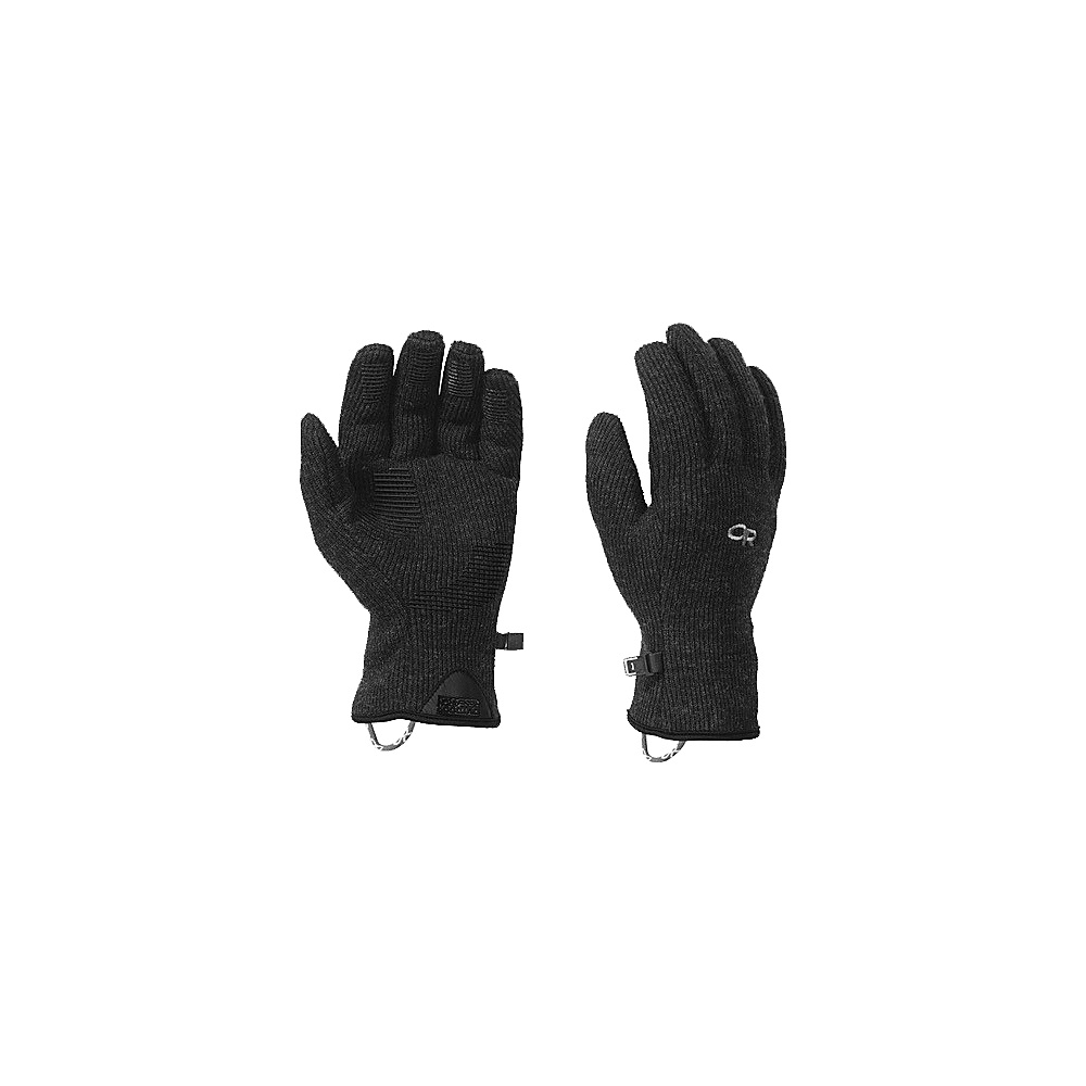 Outdoor Research Mens Flurry Sensor Gloves S - Black - Outdoor Research Hats/Gloves/Scarves - Fashion Accessories, Hats/Gloves/Scarves