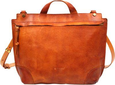 Old Trend Brookside Messenger Crossbody Chestnut - Old Trend Leather Handbags