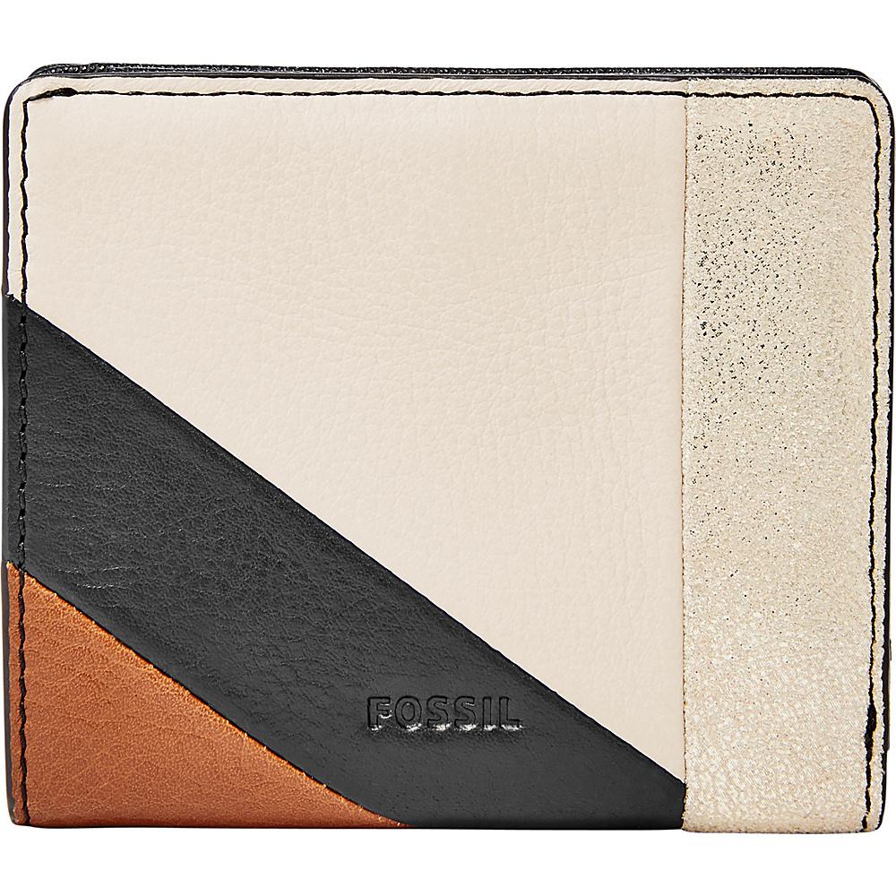Fossil Emma RFID Mini Wallet Neutral Stripe - Fossil Womens Wallets - Women's SLG, Women's Wallets