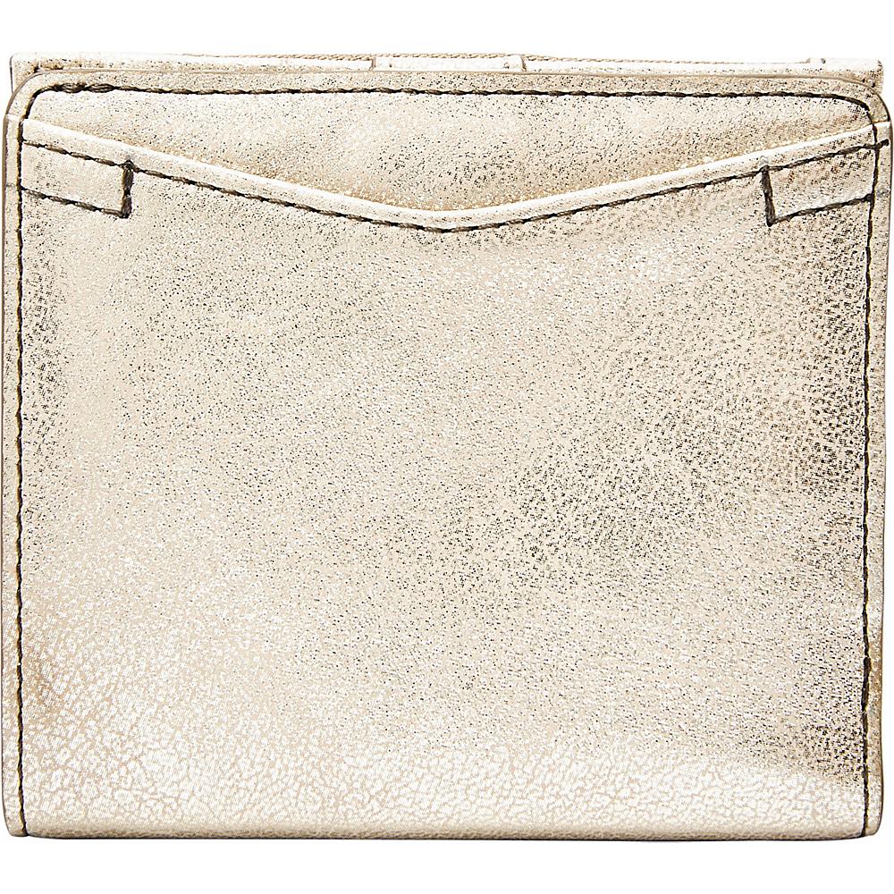 Fossil Caroline RFID Mini Wallet Gold - Fossil Womens Wallets - Women's SLG, Women's Wallets