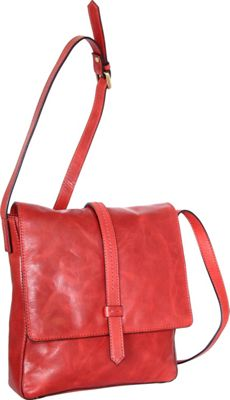 Nino Bossi Abbi Crossbody Red - Nino Bossi Leather Handbags