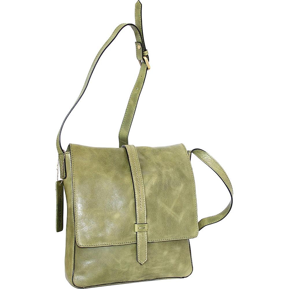 Nino Bossi Abbi Crossbody Avocado - Nino Bossi Leather Handbags - Handbags, Leather Handbags
