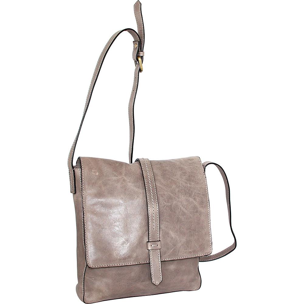 Nino Bossi Abbi Crossbody Stone - Nino Bossi Leather Handbags - Handbags, Leather Handbags