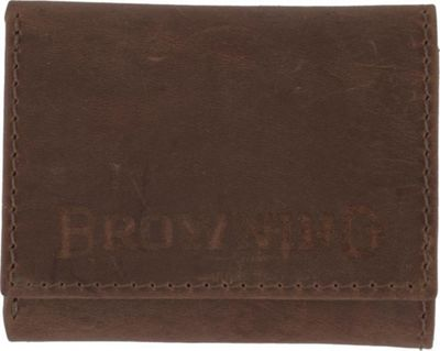 Browning Western Tri-Fold Wallet Brown - Browning Men's Wallets