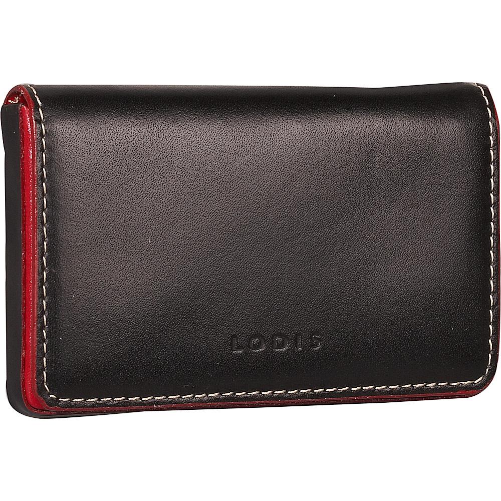 Lodis Audrey Mini Card Case - Black - Women's SLG, Women's SLG Other