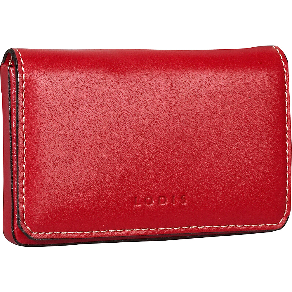 Lodis Audrey Mini Card Case - Discontinued Colors Red - Lodis Womens SLG Other - Women's SLG, Women's SLG Other