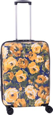 Isaac Mizrahi zzzzz Isaac Mizrahi zzzzz Inez 26 inch 8-Wheel Hardside Spinner Checked Luggage Yellow - Isaac Mizrahi zzzzz Hardside Checked