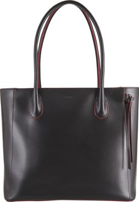 Lodis Audrey Cecily Satchel - Discontinued Colors Black - Lodis Leather Handbags