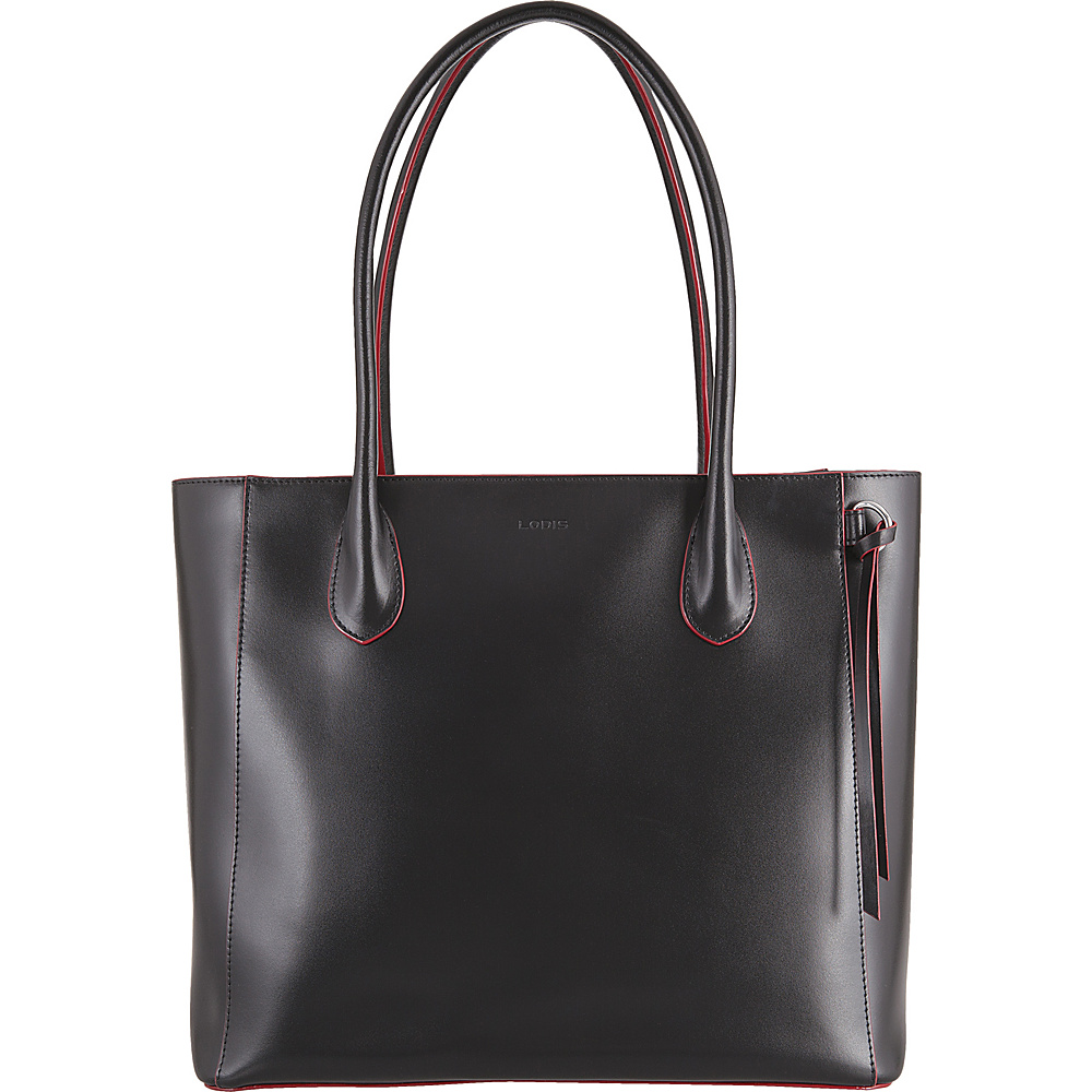 Lodis Audrey Cecily Satchel - Discontinued Colors Black - Lodis Leather Handbags - Handbags, Leather Handbags