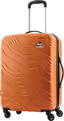 Kamiliant Kanyon 24 inch Hardside Checked Spinner Luggage Sand - Kamiliant Hardside Checked